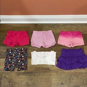 Size 4T Girls Summer Clothing Bundle